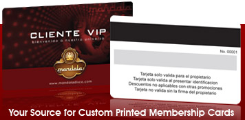 High Quality Custom Printed Membership Cards  Membership Card Samples